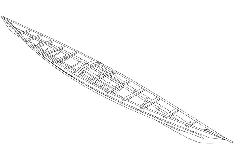 The Greenland Kayaks frame